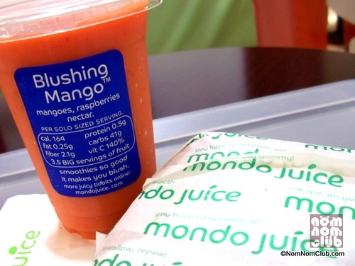 Blushing Mango Smoothie