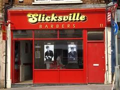Picture of Slicksville Barbers, 11 Ye Market, Selsdon Road