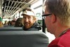 Bryan & Wes on the bus by giulia.forsythe