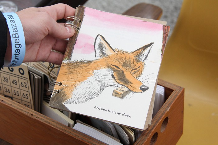 vintage_fox_notebook