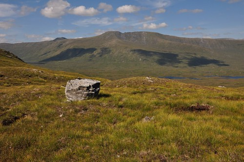 Lurg Mhor and the summit of Bidian a'Choire Sheasgaich left