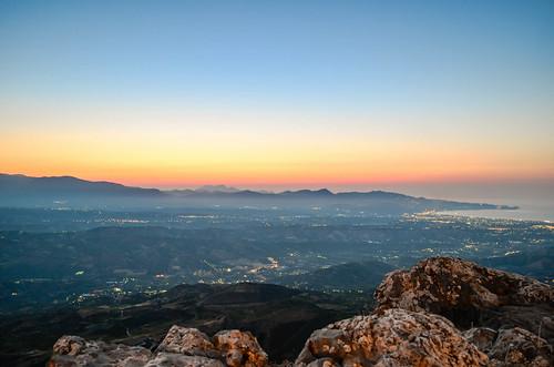 sunset crete iraklio juchtas