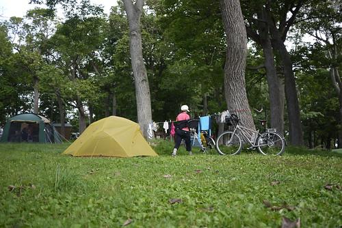 Shiretoko Noeijo (Shiretoko Campground) in Utoro (Hokkaido, Japan)