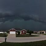Black Storm Clouds - Jasper, Indiana