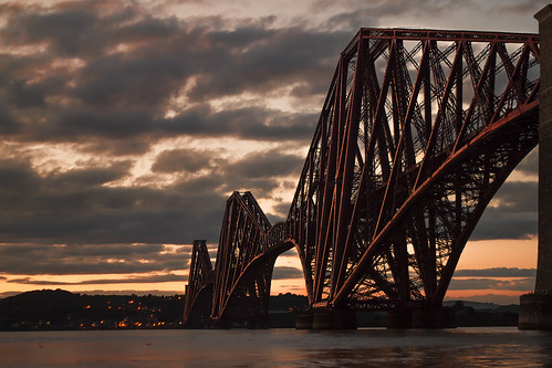 Forth Rail Bridge - Scotland by Michael~Ashley