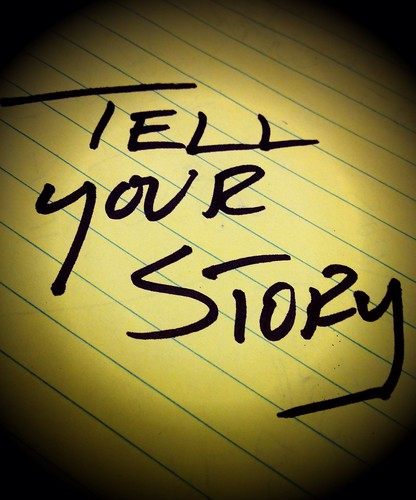 Tell your story by Damian Gadal