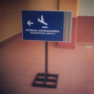 Ketibaan antarabangsa Lapangan Terbang Sultan Ismail Petra