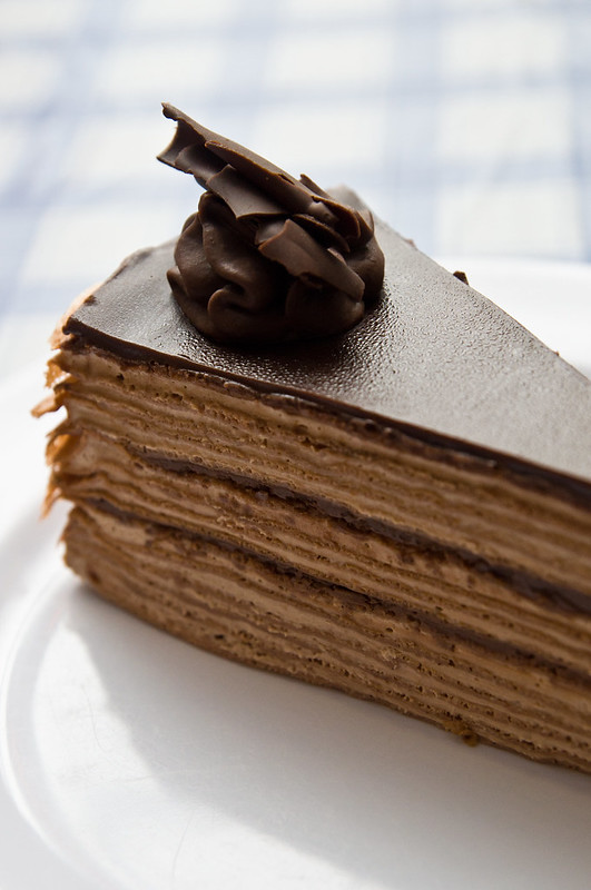 Chocolate Supreme Mille Crepe