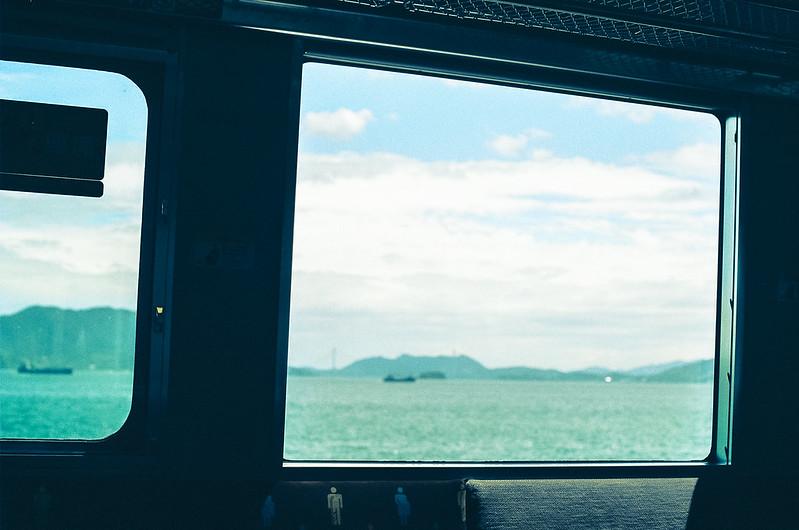 呉線の車窓#2