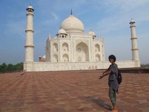 我與泰姖瑪哈陵(Taj Mahal and me)