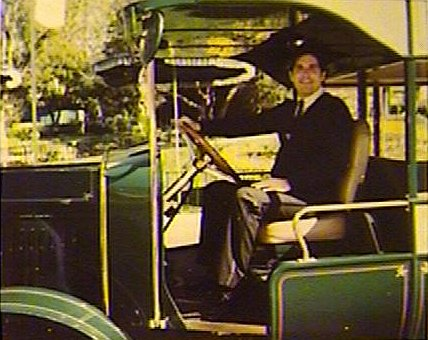 Wizard Drives the Main Street U.S.A. Omnibus.