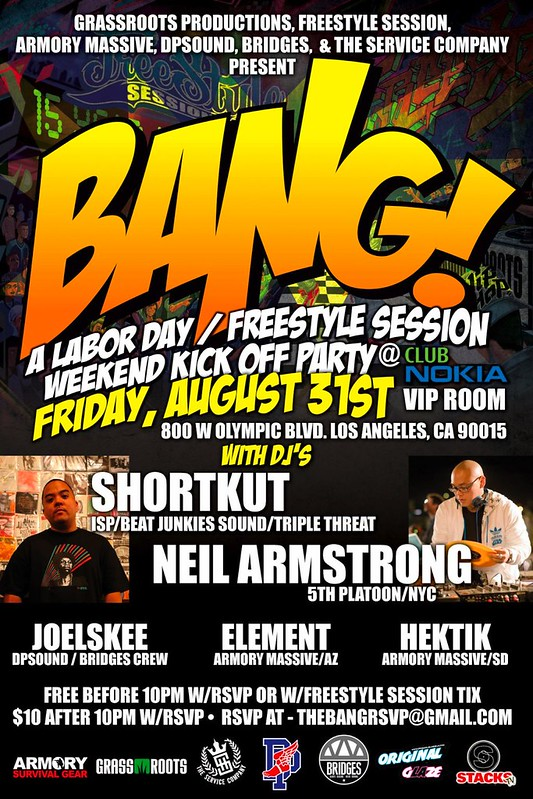 Freestyle Session Weekend Kick Off Party @ Club Nokia