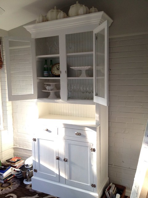 reinventing our kitchen hutch town home