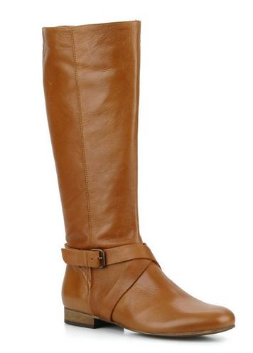 Georgia Rose tan boots