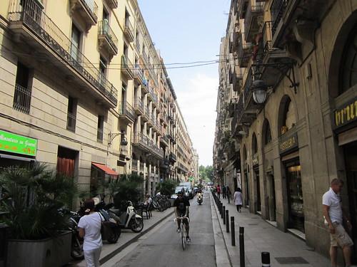 バルセロナの通り 2012年6月7日 by Poran111