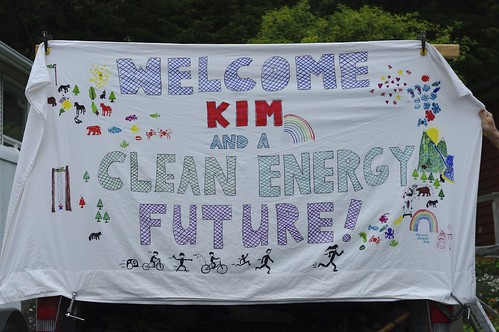 Welcome Kim banner