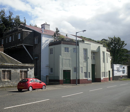 Former Star Cinema, Bo'ness, Side View