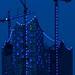 Small photo of Elbphilharmonie in blau