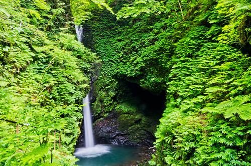 岩室の滝 2012.6.26-3