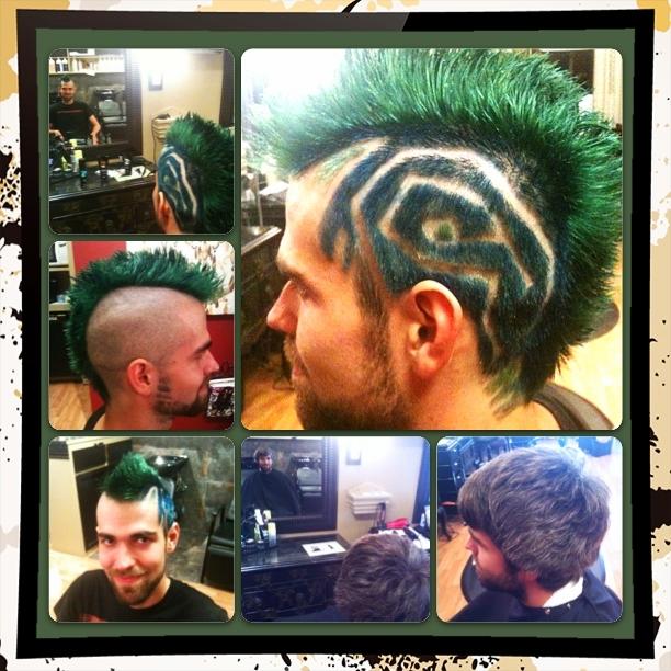 Geometric Mohawk