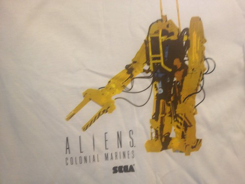 Aliens: Colonial Marines PAX Event Pre-order Shirts