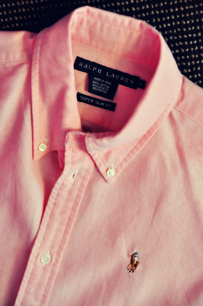 Ralph Lauren Polo Shirt (Pink)