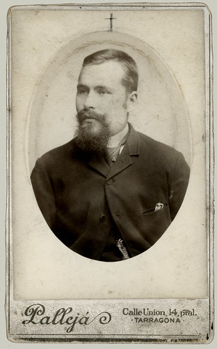 CDV of a man with a beard
