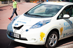 automobile, vehicle, nissan leaf, automotive design, electric car, city car, land vehicle, electric vehicle,