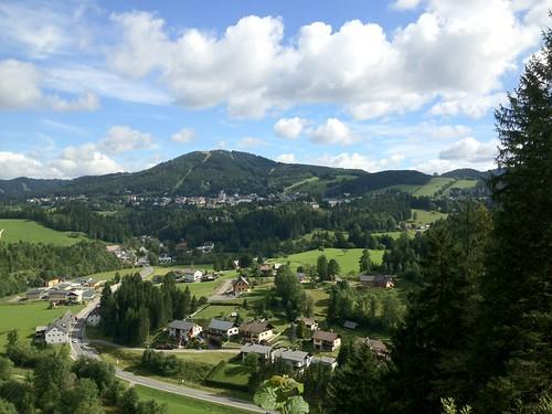 church austria town mariazell