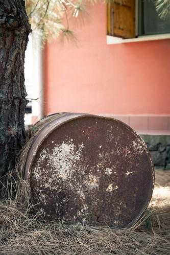 Old barrel by Davide Restivo