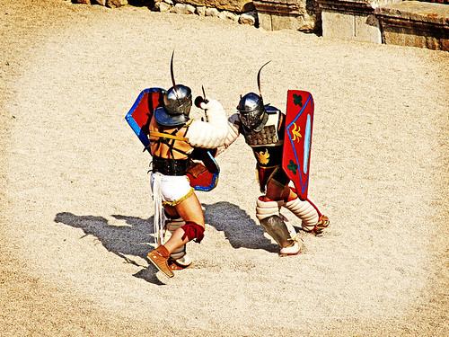 Gladiators, Tarraco Viva, Tarragona, Catalonia