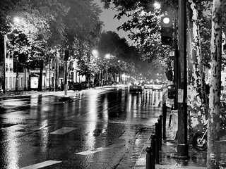 Paris - Night & Rain