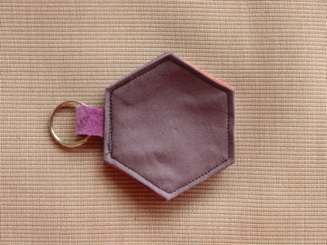 Hexagon needle book