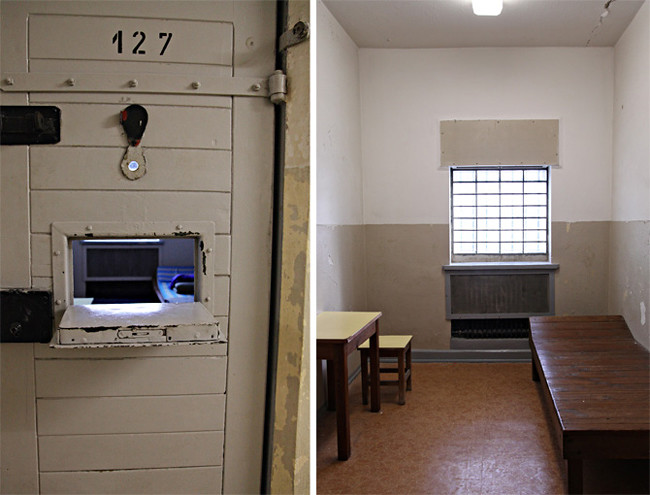 Hohenschönhausen Prison cell