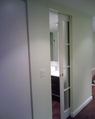 Pocket door - photo courtesy of Slidoor Systems Inc - Canada