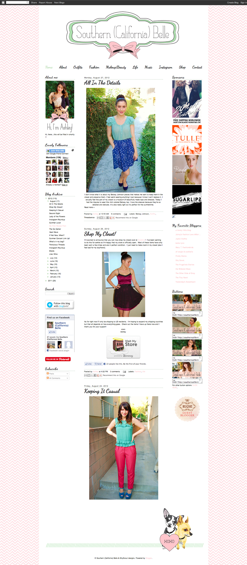 http://southerncaliforniabelle.blogspot.com/ redesign