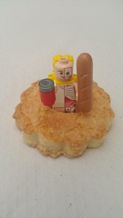 Good morning the Lego world  Breakfast hula up with a biscuit Let's go to Palma de Majorca