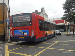 Stagecoach Midland Red Dennis Enviro 300 (MAN 18.240 LF) 22838 KX09 BHE on Route 2 to Camp Hill