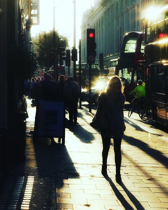 #sunset #london #flare #autumn