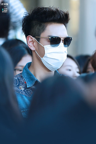 Big Bang - Gimpo Airport - 20may2015 - TOP - Utopia - 07