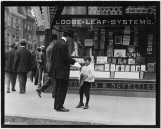 James Loqulla, a newsboy, 12 years old. Selling papers for 3 years, May 1910