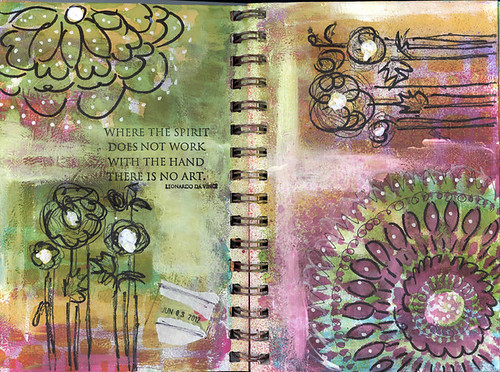 Sprial Journal Spread 2