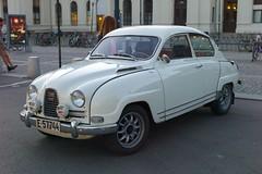 mercedes-benz w120(0.0), mid-size car(0.0), mitsuoka viewt(0.0), automobile(1.0), vehicle(1.0), compact car(1.0), antique car(1.0), sedan(1.0), classic car(1.0), vintage car(1.0), saab 92(1.0), saab 96(1.0), land vehicle(1.0),