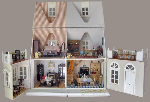 miniature doll dolls fashiondoll entire dollhouse opened 112scale dollfashion 16scaledoll hegemony77
