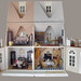 View of the entire 1 12 scale opened dollhouse by Hegemony77 - 1/6th scale clothes