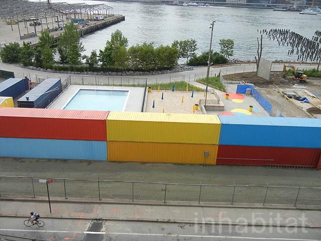 Brooklyn Bridge Park Pop Up Pool And Beach Flickr