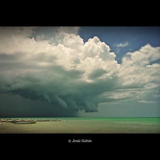 Se acerca la tormenta (Isla de Holbox)