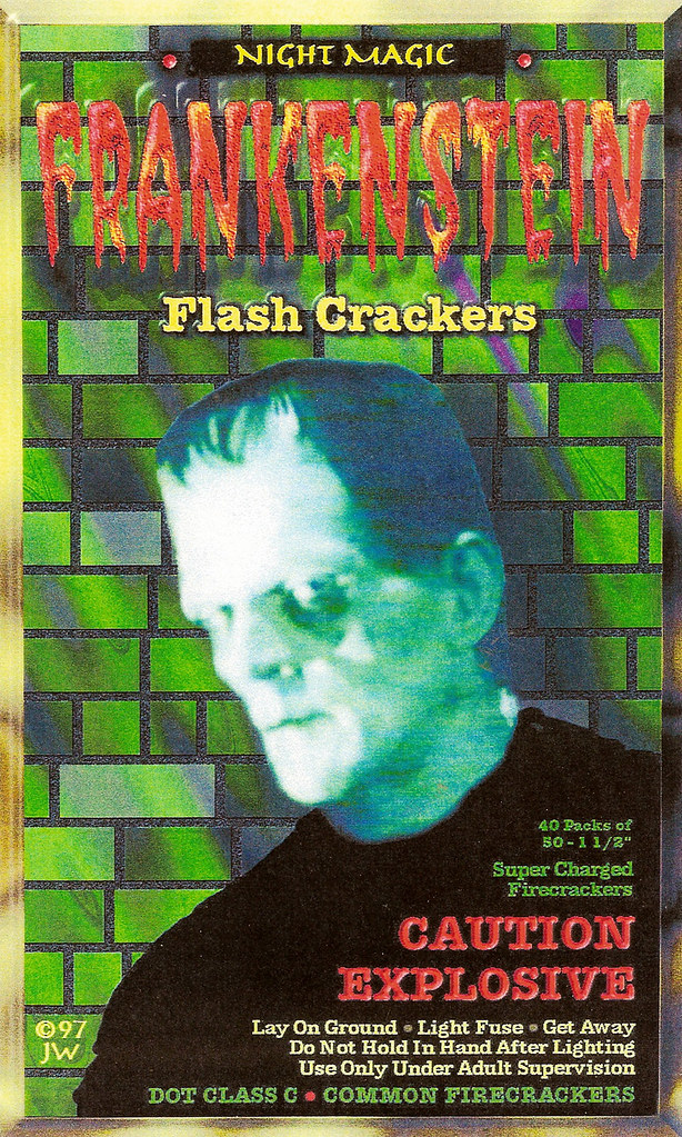 FRANKENSTEIN - Firecracker Brick Label