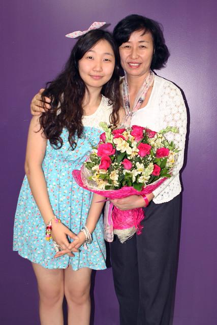 Sylvia Park and mom