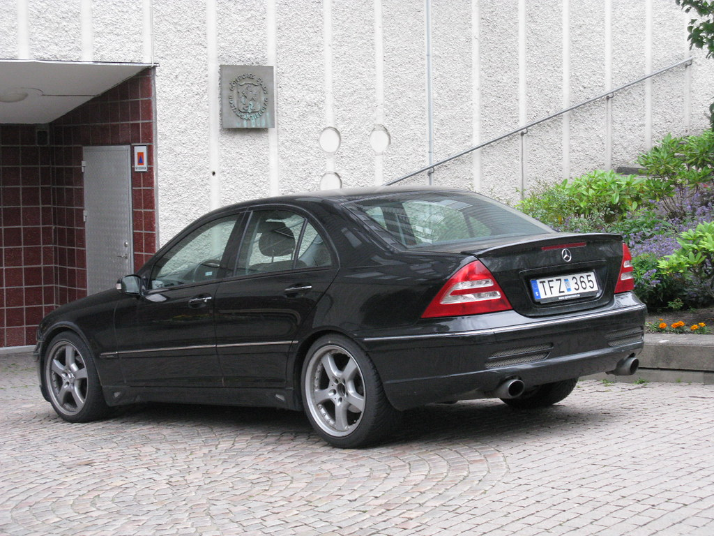 mercedes benz c200 kompressor w203 a photo on flickriver. Black Bedroom Furniture Sets. Home Design Ideas